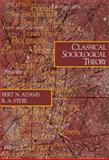Classical Sociological Theory 9780761987802
