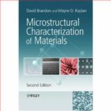 Microstructural Characterization of Materials 9780470027844