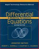 Differential Equations, Maple Technology Resource Manual 9780471447849