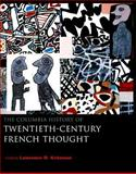 The Columbia History of Twentieth-Century French Thought 9780231107907
