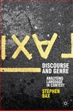 Discourse and Genre 9780230217966