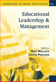 Learning to Read Critically in Educational Leadership and Management 9780761947967