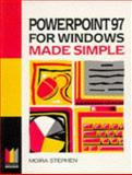 Powerpoint 97 for Windows Made Simple 9780750637992