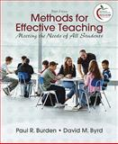 Methods for Effective Teaching 5th Edition