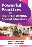 Powerful Practices for High-Performing Special Educators