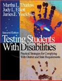 Testing Students with Disabilities 9780761938088