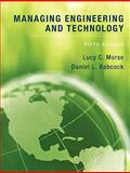 Managing Engineering and Technology 9780136098096