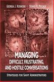 Managing Difficult, Frustrating, and Hostile Conversations 9780803968097