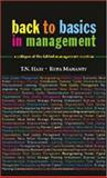 Back to Basics in Management 9780761998129