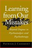 Learning from Our Mistakes 9781572308176