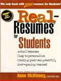 Real-Resumes for Students 9781885288189