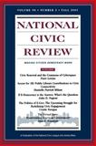 National Civic Review, Fall 2001 9780787958206