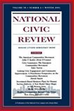National Civic Review, Winter 2001 9780787958213