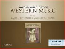 The Oxford Anthology of Western Music 9780199768257