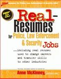 Real-Resumes for Police, Law Enforcement, and Security Jobs 9781885288257