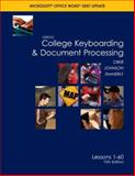 GREGG College Keyboarding and Document Processing 9780073368313
