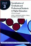 Socialization of Graduate and Professional Students in Higher Education 9780787958367