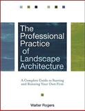 The Professional Practice of Landscape Architecture 2nd Edition