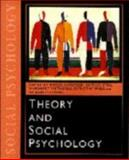 Theory and Social Psychology 9780761958383