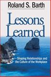 Lessons Learned 9780761938422