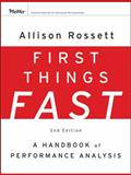 First Things Fast 2nd Edition
