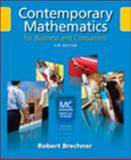 Contemporary Mathematics for Business and Consumers 9780324568493
