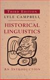 Historical Linguistics 3rd Edition