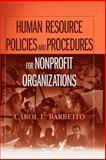 Human Resource Policies and Procedures for Nonprofit Organizations 1st Edition
