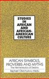 African Symbols, Proverbs and Myths 9780820418636