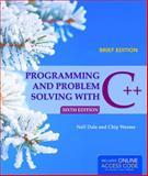 Programming and Problem Solving with C++ 9781284028645