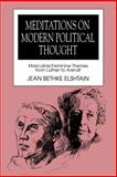 Meditations on Modern Political Thought 9780271008646