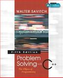 Problem Solving with C++ 9780321268655