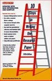 Ten Steps in Writing the Research Paper 9780812018684