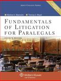 Fundamentals of Litigation for Paralegals 7e W/ Cd 7th Edition