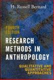 Research Methods in Anthropology 9780759108691