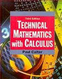 Technical Mathematics with Calculus 9780138988753