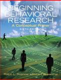 Beginning Behavioral Research 6th Edition