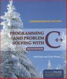 Programming and Problem Solving with C++ 6th Edition