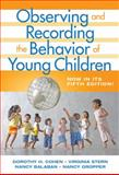 Observing and Recording the Behavior of Young Children 5th Edition