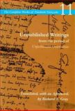 Unpublished Writings from the Period of Unfashionable Observations 9780804728843