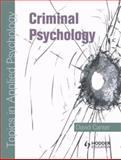 Criminal Psychology 9780340928929