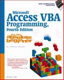 Microsoft Access VBA Programming for the Absolute Beginner 4th Edition