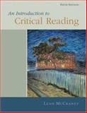 Introduction to Critical Reading 9780155068964