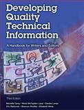 Developing Quality Technical Information 3rd Edition