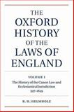 The History of Canon Law and Ecclesiatical Jurisdiction, 597-1649 9780198258971