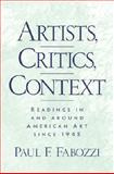Artists, Critics, Context