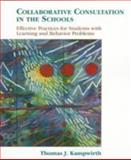 Collaborative Consulting in the Schools 1st Edition