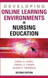 Developing Online Learning Environments in Nursing Education 9780826169020