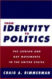 From Identity to Politics 9781566399043