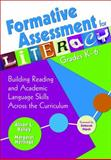 Formative Assessment for Literacy, Grades K-6 9781412949071